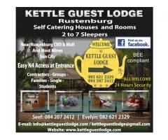 Kettle Guest Lodge