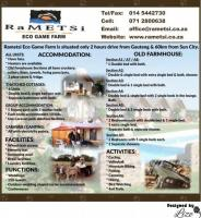 Rametsi Eco Game Farm