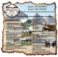 Koranna Berg Adventures