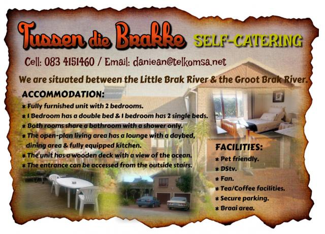 Groot Brak Rivier South Africa  city images : ... die Brakke Self Catering Groot Brak River Accommodation Tourism