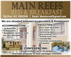 Main Reef Bed & Breakfast