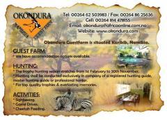 Okondura Hunting & Guestfarm