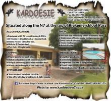 Kardoesie Padstal / Accommodation / Restuarant & Caravan Park