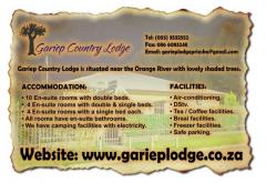 Gariep Country Lodge