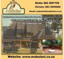 Mabulani Game Reserve