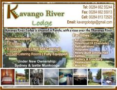 Kavango River Lodge