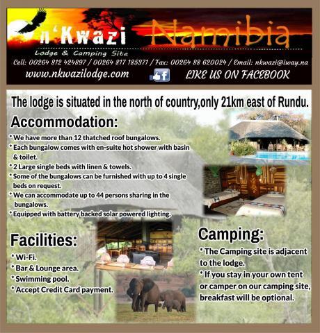 N'Kwazi Lodge & Camping Site