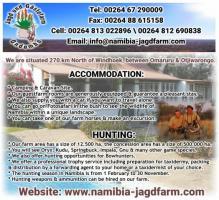 Ondombo Jagd und Gästefarm