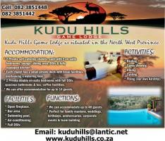Kudu Hills Game Lodge