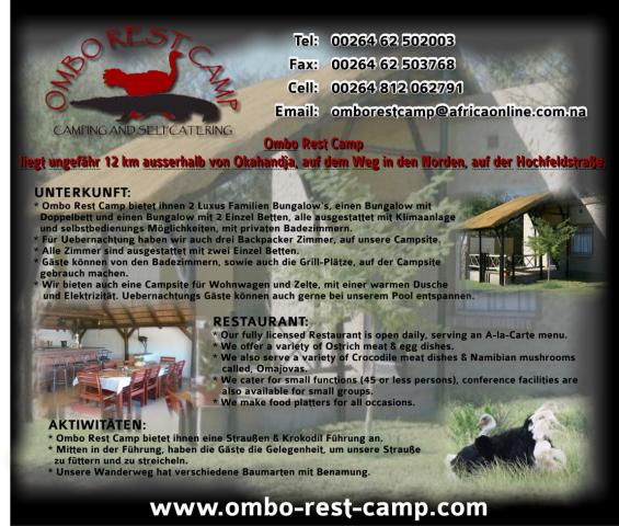 Ombo Rest Camp