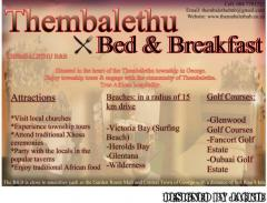 Thembalethu Bed & Breakfast