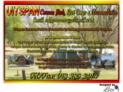 Uitspan Caravan Park, Rest Camp + Accommodation