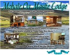 Mohale Oa Masite Lodge