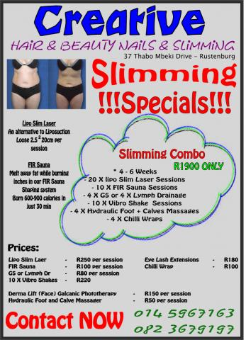 Creative Hair Beauty Nails and Slimming Rustenburg - Business ...