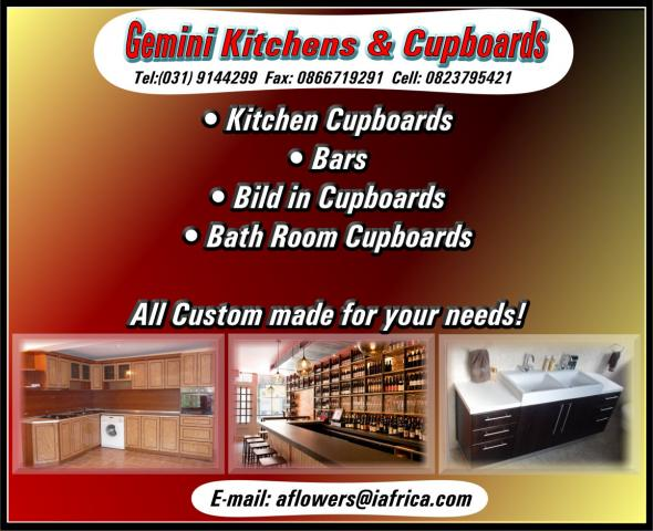 Gemini Kitchens & Cupboards