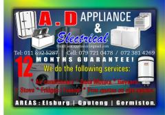 A.D Appliance & Electrical