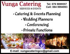 Vunga Catering Services & Events