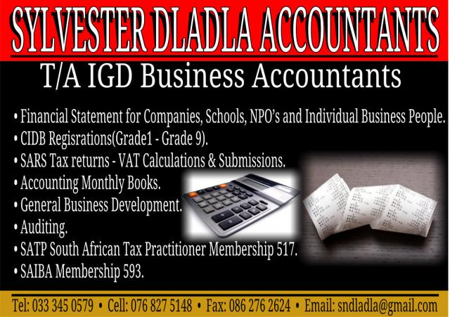 SYLVESTER DLADLA ACCOUNTANTS T/A IGD Business Accountants