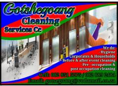 Gotshegoang  Cleaning Services Cc