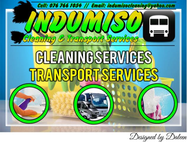Transport Cleaning Services : Indumiso cleaning transport services phillipi business