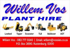 Willem Vos Plant Hire
