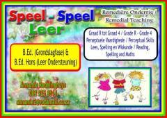 SPEEL- SPEEL LEER