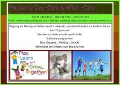 Mayberry Day-Care & After -Care
