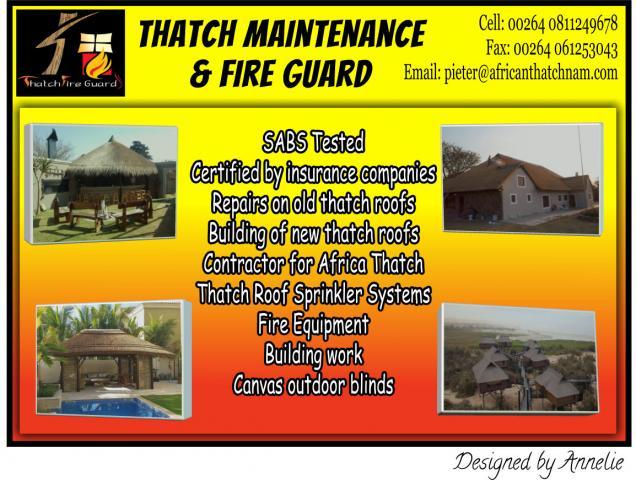Thatch Maintenance & Fire Guard
