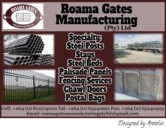 Roama Gates Manufacturing (pty) LTD
