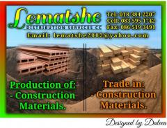LEMATSHE DISTRIBUTION SERVICES CC