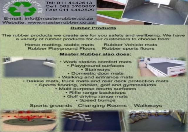Master Rubber Sandton Business Directory
