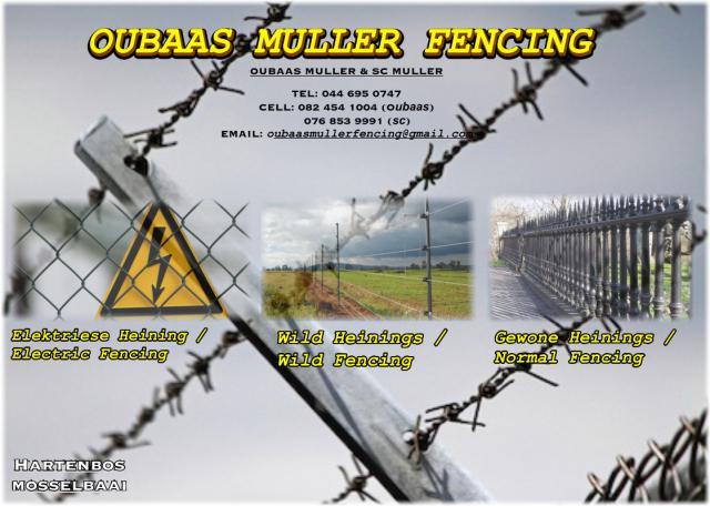 Oubaas Muller Fencing
