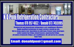 K D Poni Refrigeration Contractors