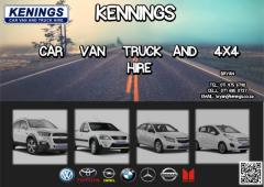 Kenings Car Van & Truck Hire