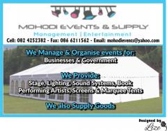 Mohodi Events & Supply (Pty) Ltd