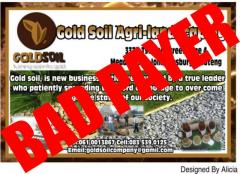 Gold Soil Agri-landscaping