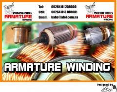 Windhoek Armature Winding