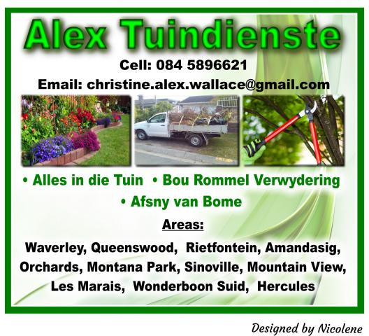 Alex Tuindienste Wonderboom Suid