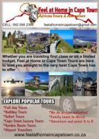 Feel at home in Cape Town Africa Tours