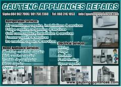 Gauteng Appliances Repairs