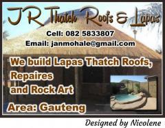 JR Thatch Roofs & Lapas