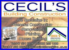 Cecil's Building Construction Cc