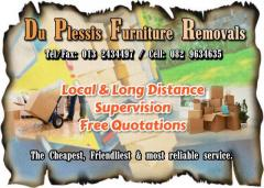 Du Plessis Furniture Removals