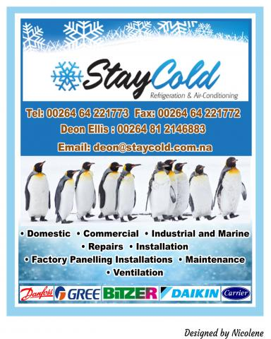Stay Cold Refrigeration & Air - Conditioning