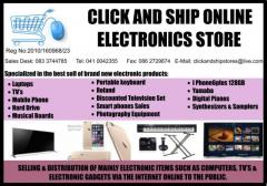 CLICK AND SHIP ONLINE ELECTRONICS STORE