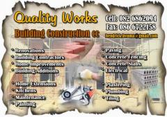 Quality Works Building Construction cc