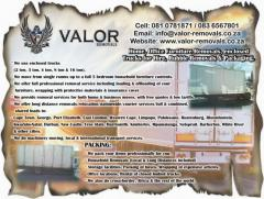Valor Removals Services