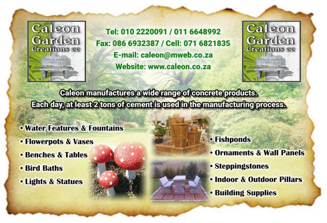 Caleon Garden Creations cc