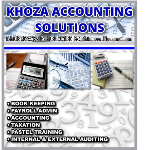 KHOZA ACCOUNTING  SOLUTIONS