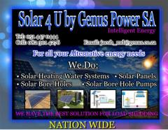 Solar 4 U Genus Power SA